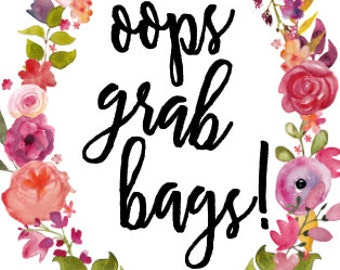 READ DESCRIPTION!! Opps Grab Bags - For The Happy Planner