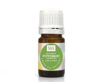 100% Pure and Natural Organic Therapeutic Grade Peppermint Essential Oil