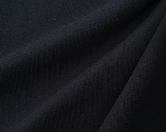 100% Cotton Jersey - 2085R Black