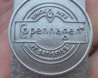 """Copenhagen""""it satisfies"""" money clip new"""