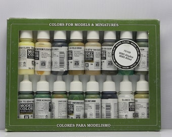 Vallejo Colors for Models & Miniatures WWII Allied Paint 70109