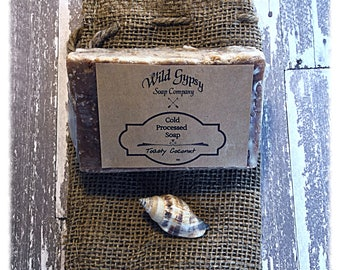 Toasty Coconut Cold Processed Soap