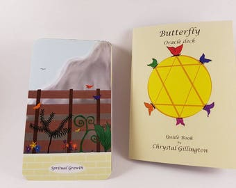 Butterfly oracle deck.