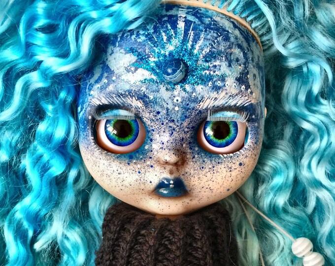 Luna* Blythe doll, Custom blythe doll, Brown hair blythe, Custom blythe doll, OOAK blythe, Blythe TBL, Interior doll, Blythe handmade