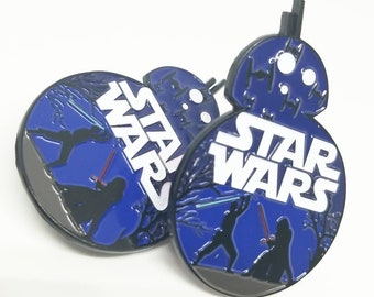 BB8 Silhouette - Star Wars Enamel Pin