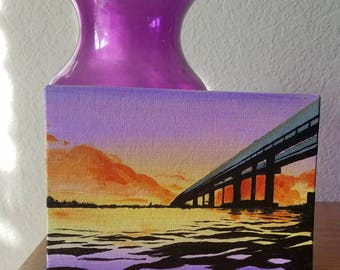 Sunset Painting - 5x7