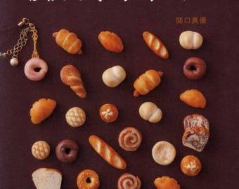 Kawaii Cute Miniature Clay Breads - Japanese Craft Book