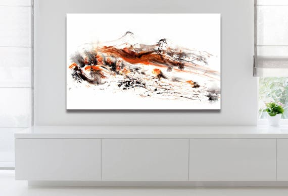 FALL SERIES   #3002, Contemporary Art Print, Abstract Painting, Artist-Signed, Giclee Fine Art Print, Acrylic, Fall, Season, 10x16 - 36x60
