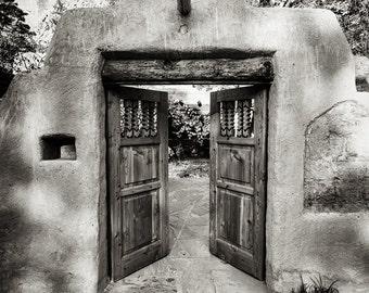 Black u0026 White Photography Doorways Door Photo Travel Photography New Mexico Fine Art Print Portal Spiritual Transformation Journey & Black u0026 White Photography Doorways Door Photo Travel