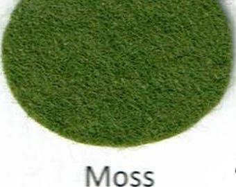 Wool Blend Felt - Moss - Green Family