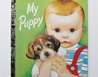 My Puppy By Patsy Scarry A Little Golden Book 1992