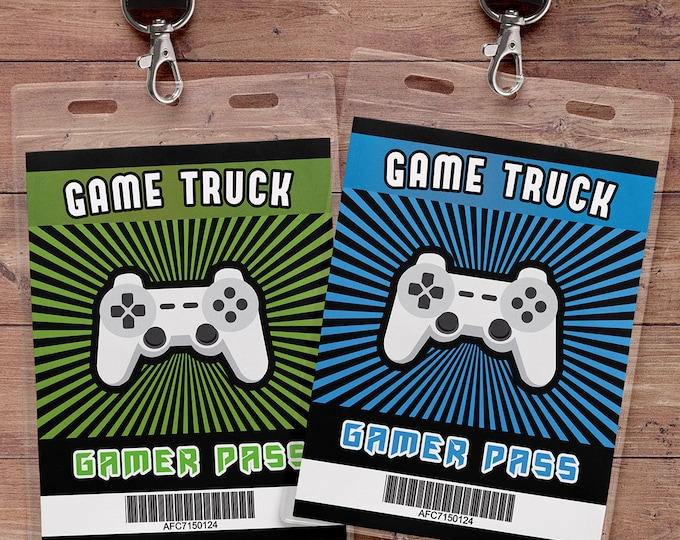 Video Game party | Game Truck Party | Video Game Party | Boy Birthday | Game Truck, VIP pass, Game truck birthday