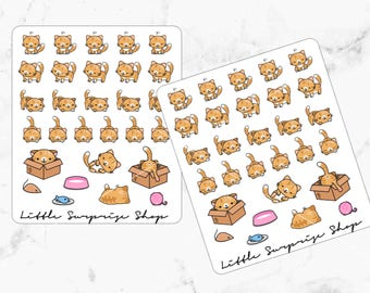 Kawaii Tiger The Cat Stickers//KA003