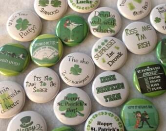 YOU PICK. St. Patrick's Day pin set 7-10
