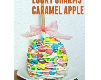 Caramel Apple, Set of 2, Lucky Charms
