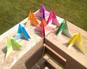 Origami cranes - sitting