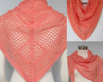 Pattern only - Lucy in the Sky Shawlette pattern crochet lace pattern shaw scarf one skein quick easy