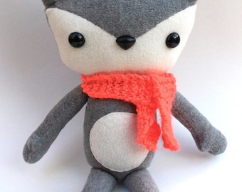 Gray Fox Plush