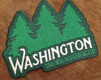 Washington Evergreen State | Embroidered Patch