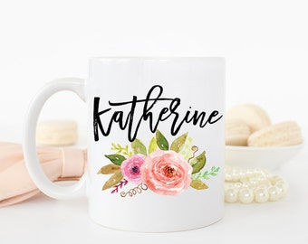 Name Mug, Custom Name Mug Personalized Mug, Custom Mug, Coffee Mug, Personalized Gift, Custom Coffee Mug, Custom Name Mugs, Monogram Mugs