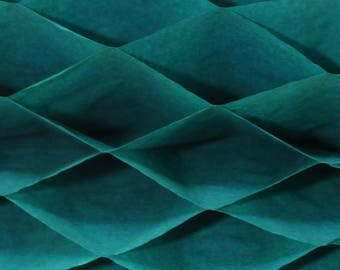 6-pack Teal Green Honeycomb Paper Popup Craft Pad (7 inches X 9 inches each)