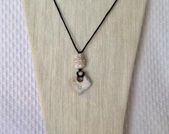 Ceramic Clay Pendant Necklace