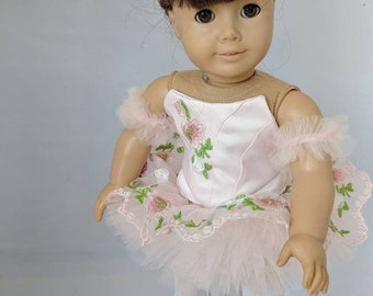 """Custom Ballet Outfit for American Girl Doll or 18"""" Doll"""