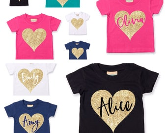 Personalised Kids TShirt | Personalised Kids Clothing | Name Shirt | Gift ideas for kids | Gift ideas for Baby | Kids Fashion