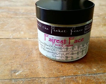 Face Cream with Carrot Seed Oil - Fairest Face - 2 oz