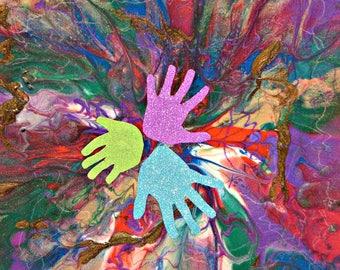 Wall Art Decor - Color Burst Kids