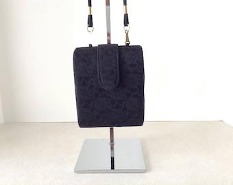 Magid Black Lace Evening Bag