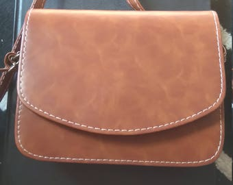 camel Brown Crossbody bag