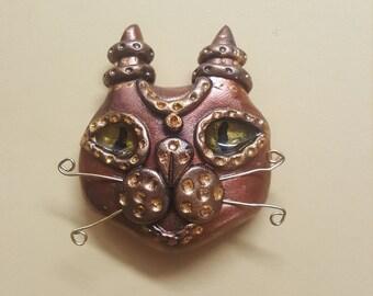 "Magnet ""Fantasy Cat mallow"""