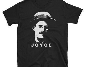 JAMES JOYCE T-Shirt - Dubliners Author Ulysses Writer Tee Shirt