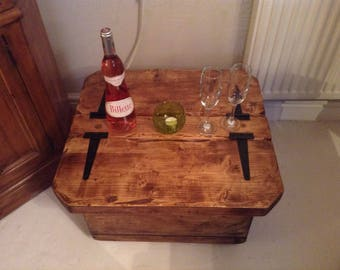 Mini Morbihan side/coffee table with storage