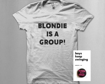 Blondie pin T shirt