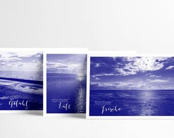 Postcards (DIN A5) / North Sea love