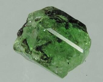 5 cts mint green tsavorite garnet terminated crystal specimen, Merelani Tanzania