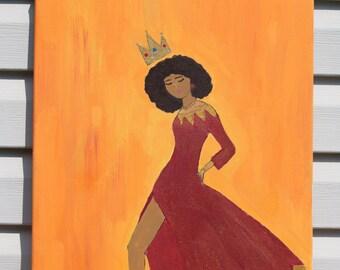 Black Queen Print