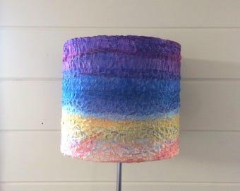 Twilight lampshade ~ handmade lampshade ~ 20cm round lampshade ~ home decor