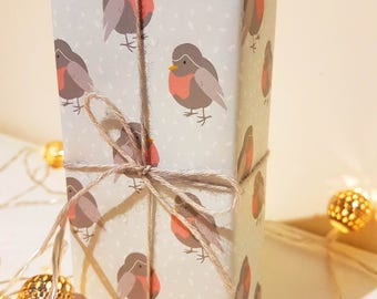 Mr. Robin Wrapping Paper - A2 Sheet - Christmas - Festive