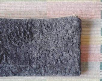 Velvet - Anthracite envelope