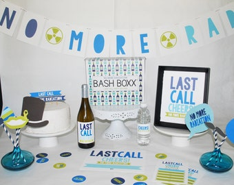 Last Day Of Radiation Party In a Box  No More Radiation  Celebrate last Call of Radiation  Gift him her - U lucky Girl- Etsy