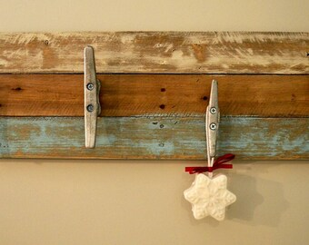 Handmade, Pallet Towel Rack, Pallet Coat Rack, Rustic Towel Rack, Rustic Coat Rack -  35""