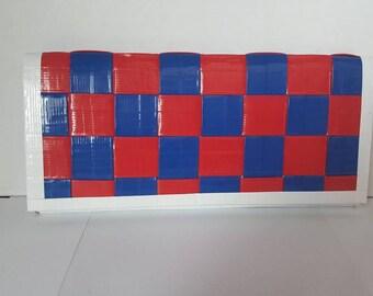 Weaved Duct Tape womens Bi-Fold Wallet
