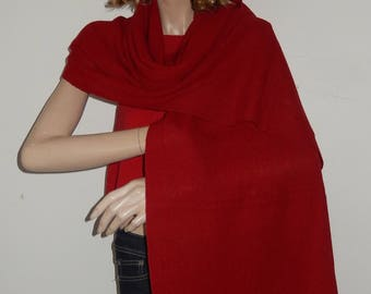 Scarves, wrap, shawl. alpaca with finished edge