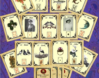 Gallipoli Memorial Lenormand Fortune Telling Oracle Cards. Brand new. Self published.