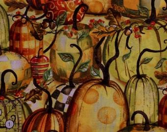 "Gather Pumpkins by Geoff Allen for Springs Creative  42""-44"" wide 100% cotton"
