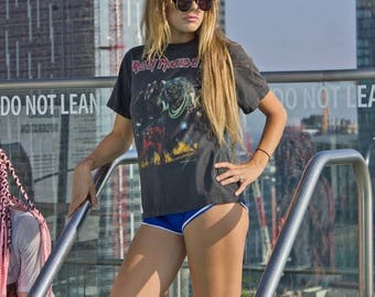 Iron Maiden Number Of The Beast Tee Super Soft Metal