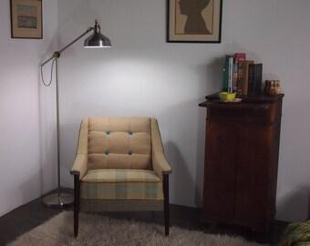 Folke Ohlssen style fauteuil au milieu du siècle